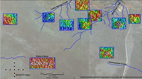 lucapa diamond em results and planned drilling targets at the brooking diamond project western australia